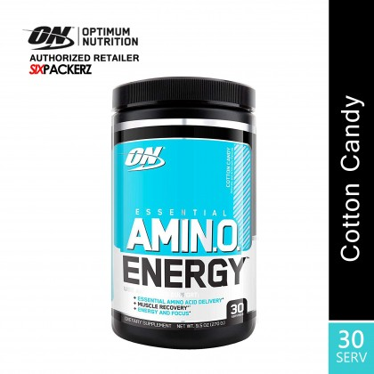 Optimum Nutrition Essential Amino Energy, Cotton Candy 30 Servings