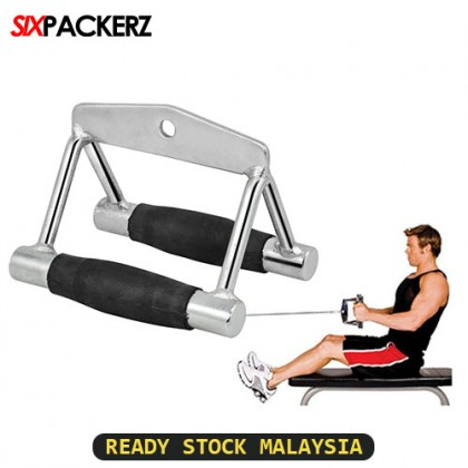 Gym Close Grip Seated Row Handle Bar Accessories